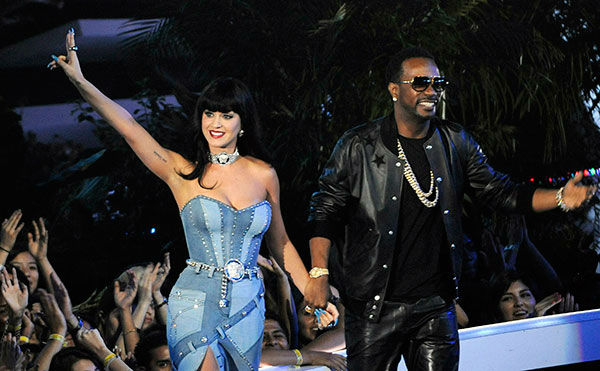 "<div class=""meta image-caption""><div class=""origin-logo origin-image ""><span></span></div><span class=""caption-text"">Single of the Year nominee ''Dark Horse'' by Katy Perry, featuring Juicy J (AP Photo/ Chris Pizzello)</span></div>"