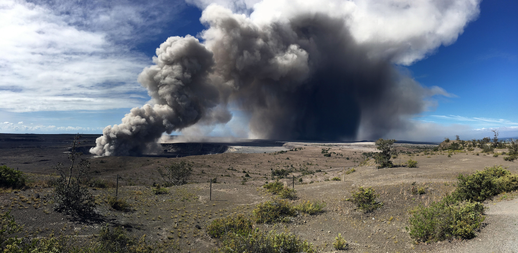 <div class='meta'><div class='origin-logo' data-origin='AP'></div><span class='caption-text' data-credit='(U.S. Geological Survey via AP)'>Officials on the Big Island of Hawaii say some vents formed by Kilauea are releasing such high levels of sulfur dioxide that the gas poses an immediate danger to anyone nearby.</span></div>