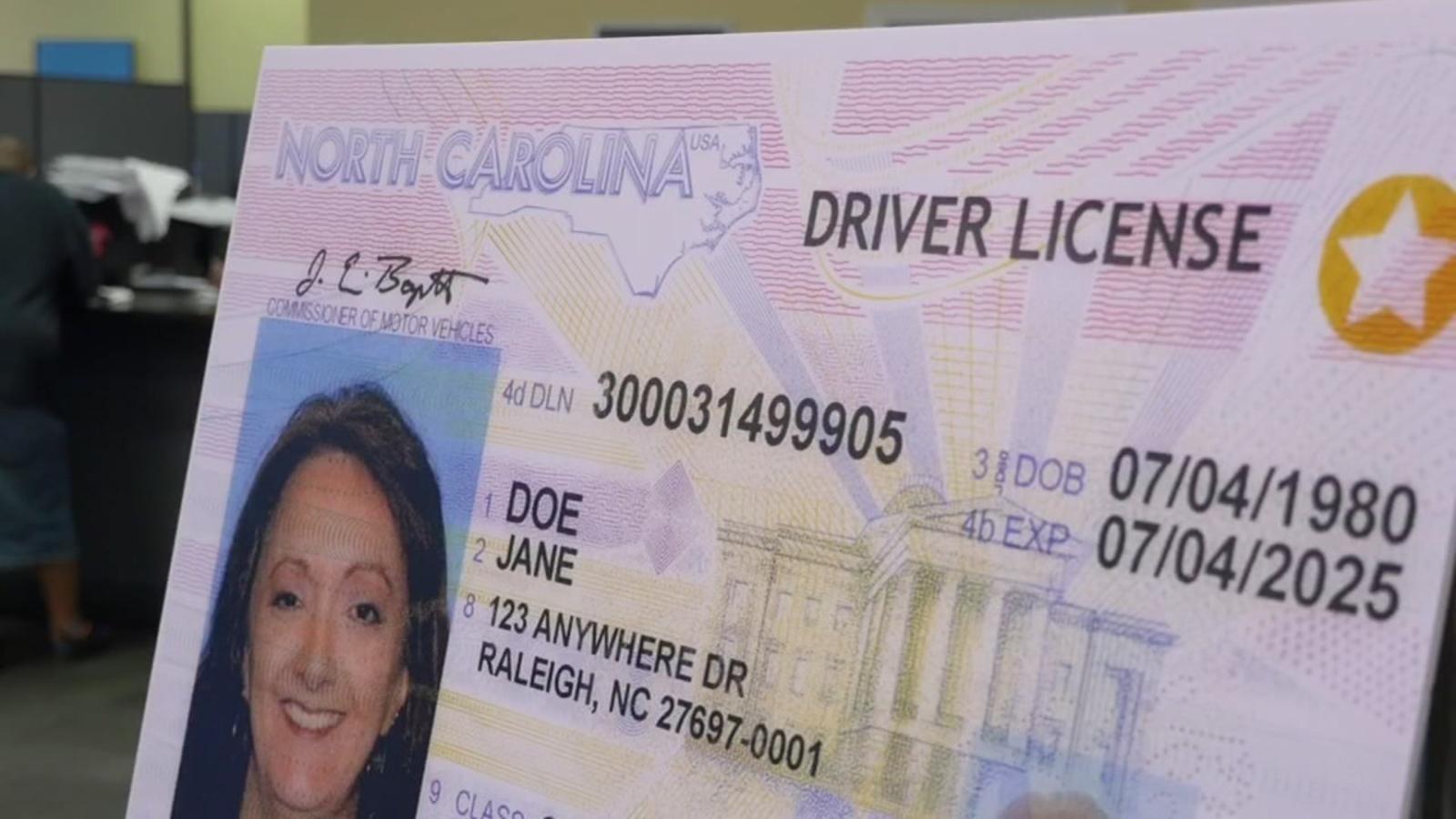 new nc drivers license 2017