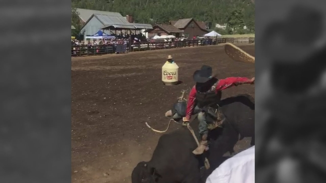 who invented bull riding