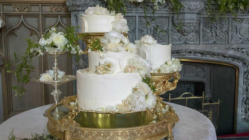 See the royal wedding cake