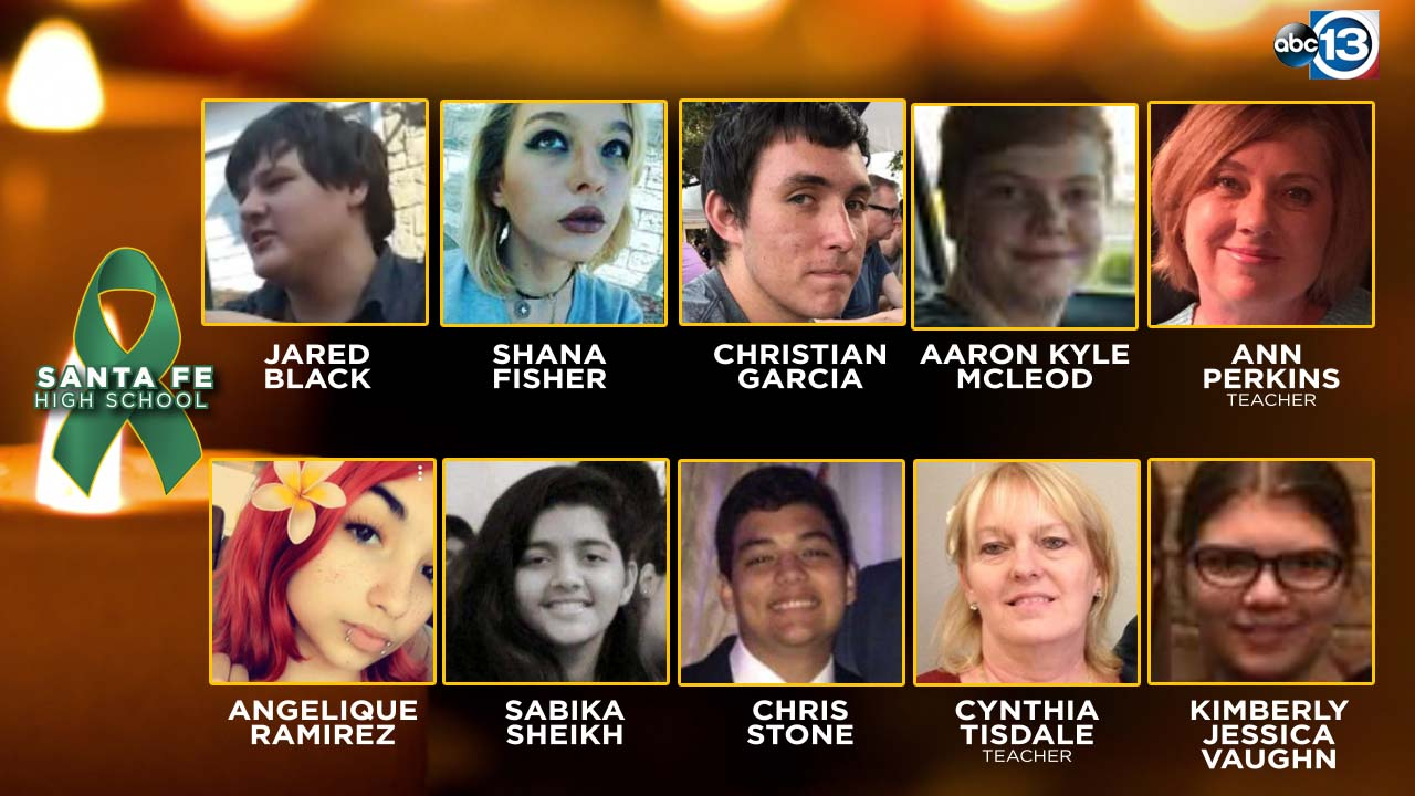 santa fe high school shooting victims here s what we know