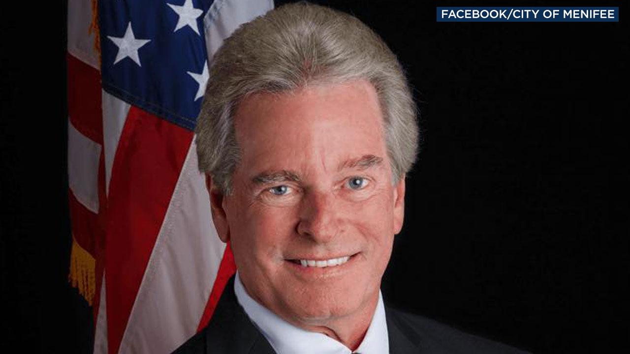 Menifee Mayor Neil Winter, 65, is shown in a photo.