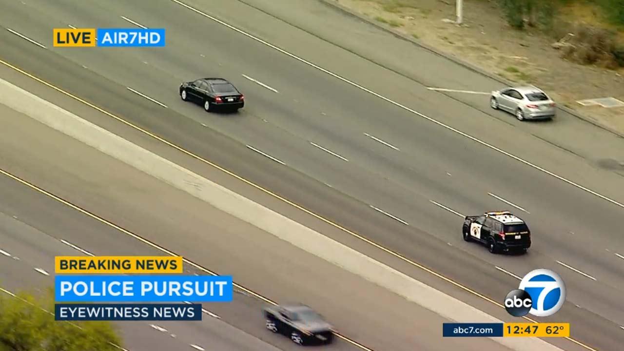 News Today Car Pursuit