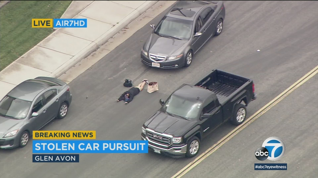 southern california chase: 3 in custody, baby found in 2nd car