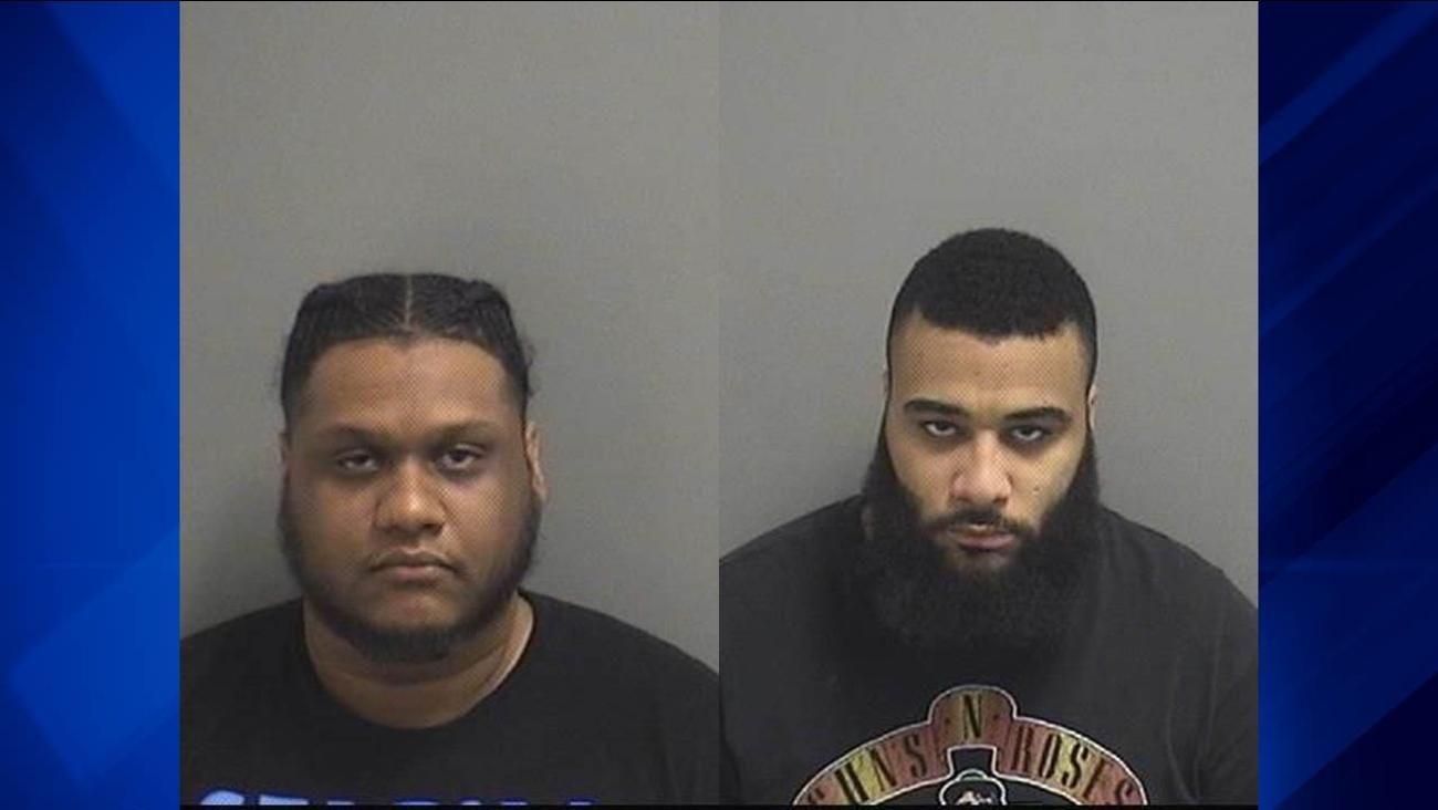Jose Curet, 27, left, and Joshua Priest, 27, right.