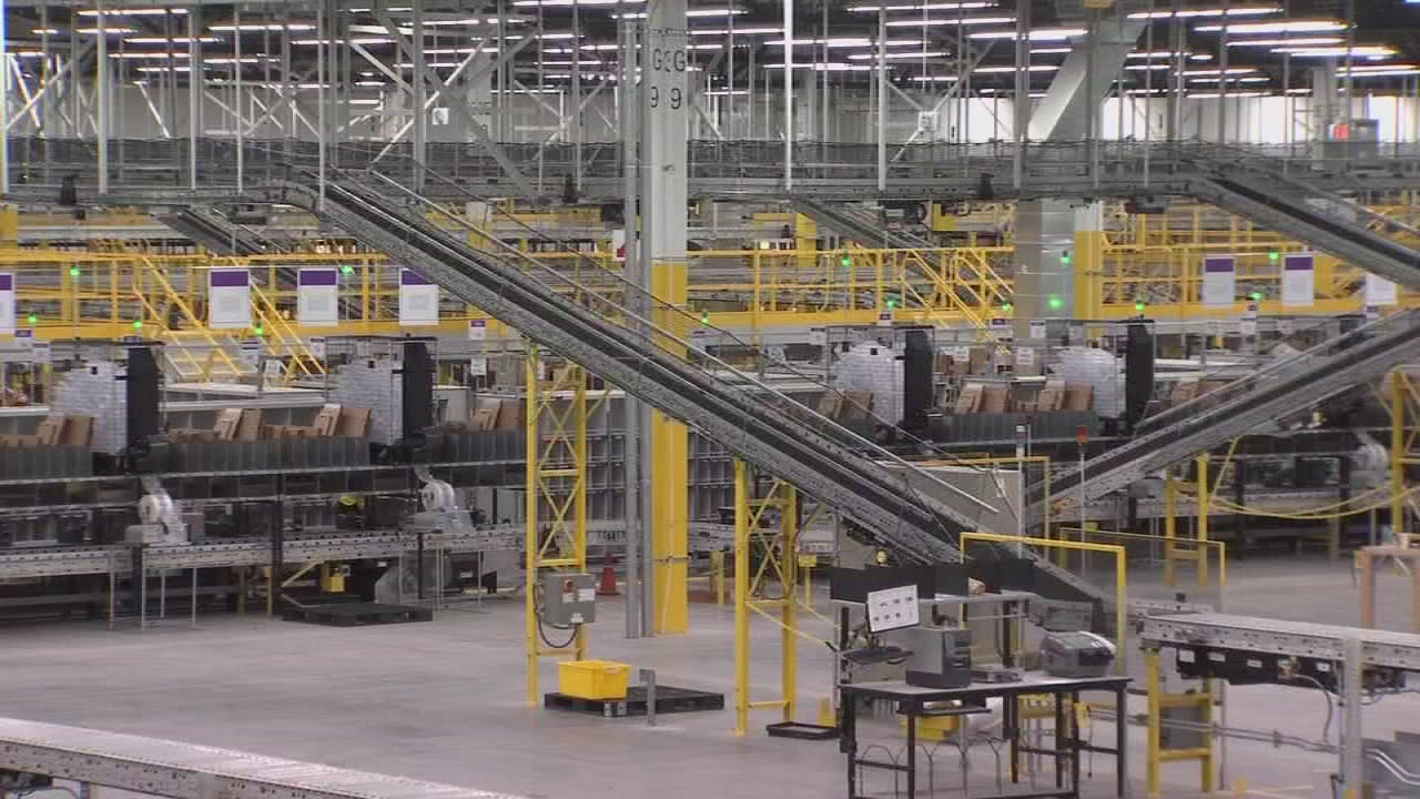 First look inside Amazon's new Fresno facility