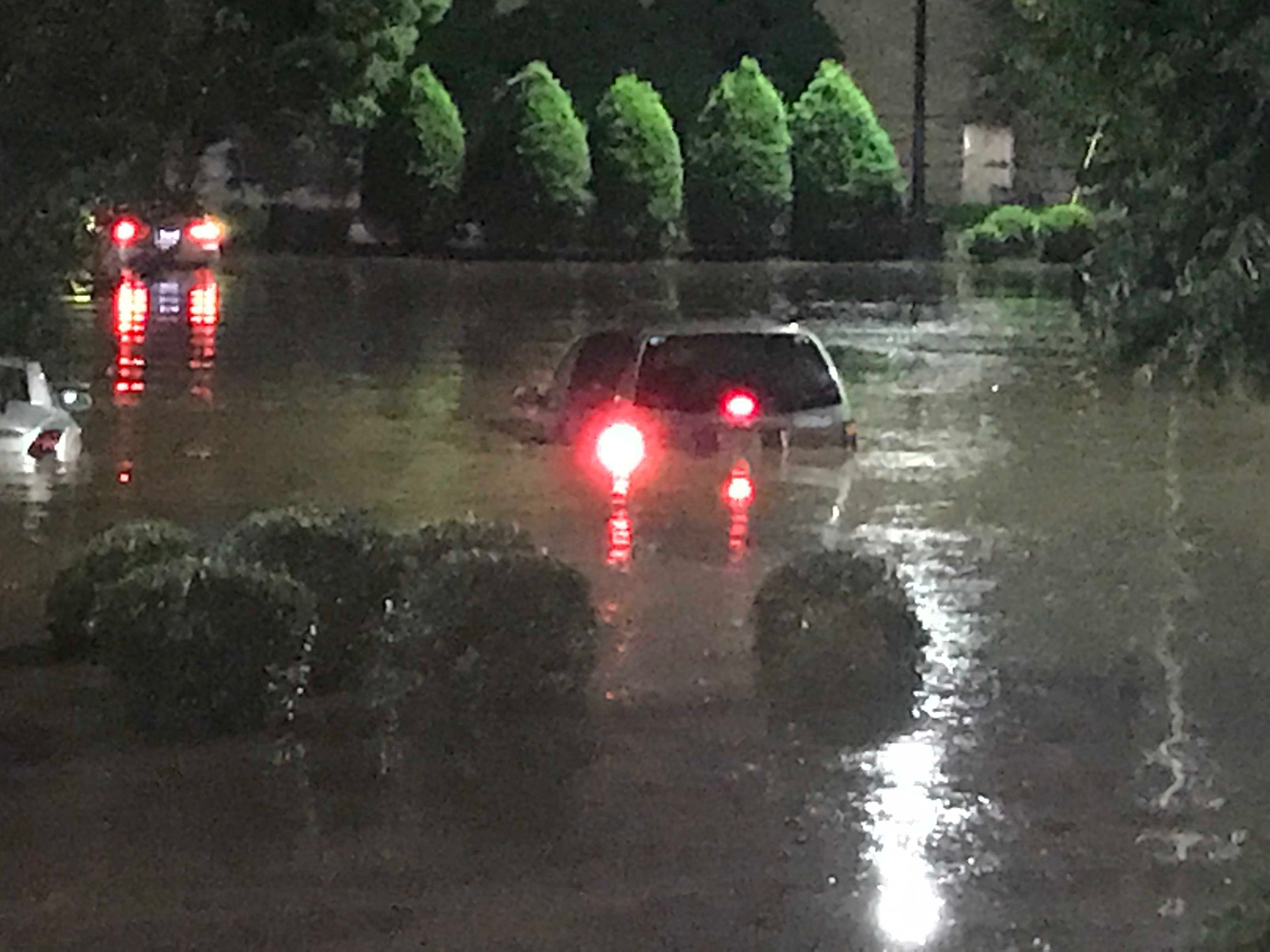 <div class='meta'><div class='origin-logo' data-origin='WTVD'></div><span class='caption-text' data-credit='Robert Judson'>Flooding at Crabtree Valley Mall.</span></div>