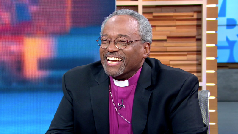 Black Preacher At Royal Wedding.Royal Wedding Star Bishop Michael Curry Speaks To Gma