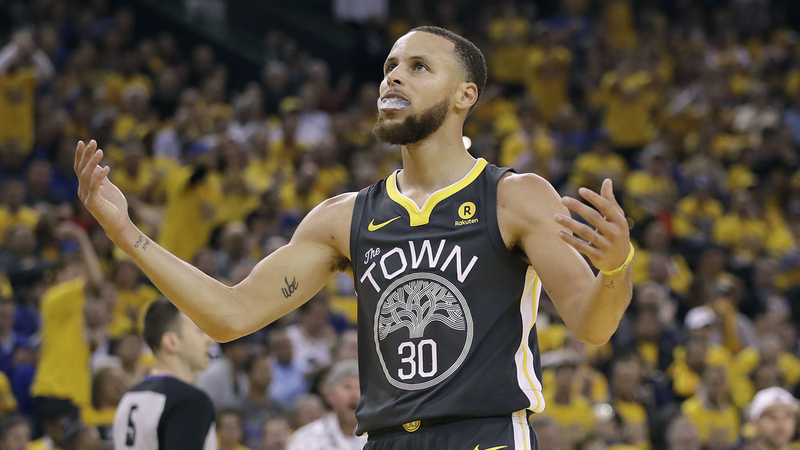 Stephen Curry's championship-clinching mouthguard to be auctioned off