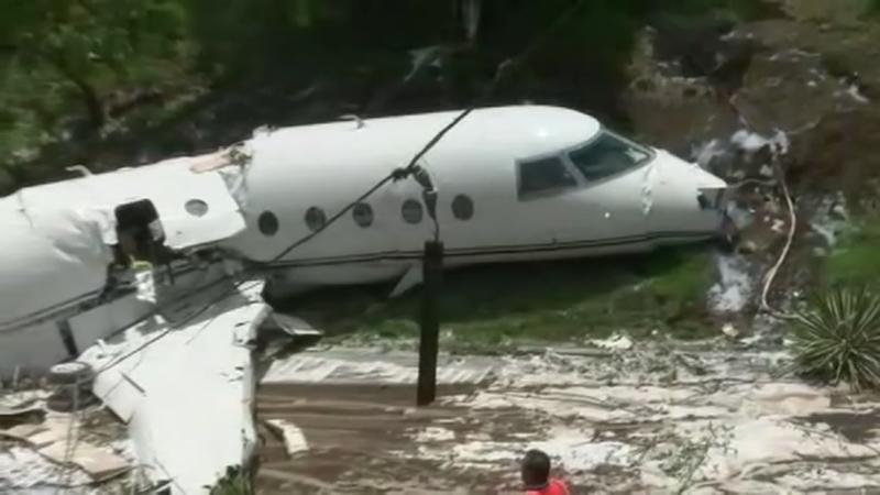 Survivors of private jet crash in Honduras land in Houston
