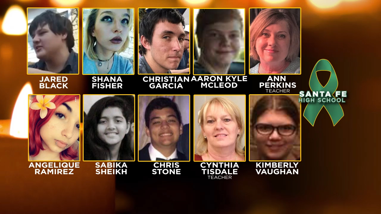 family friends recall santa fe high school shooting victims