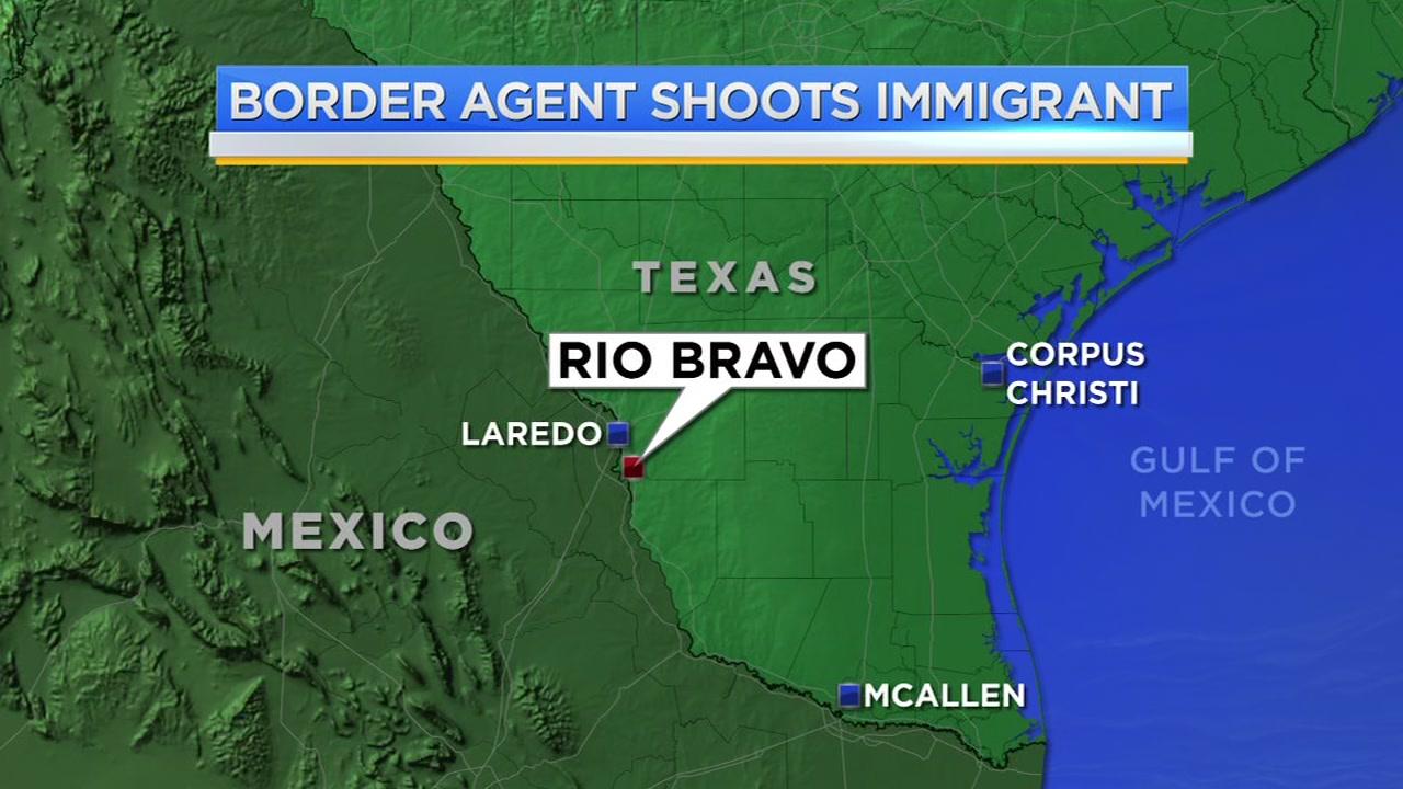 Rio Bravo Mexico Map.Border Patrol Agent Fatally Shoots Person Near Rio Bravo Abc13 Com