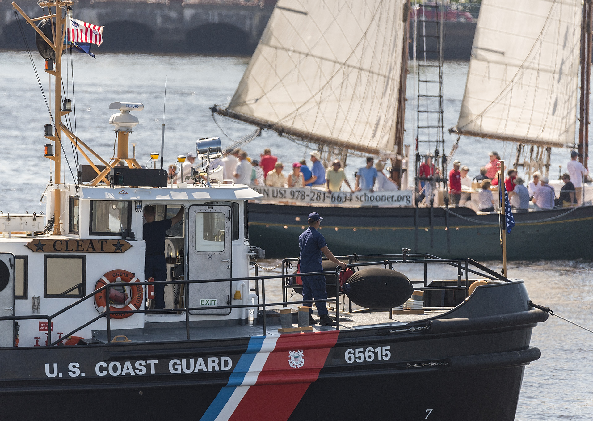 "<div class=""meta image-caption""><div class=""origin-logo origin-image none""><span>none</span></div><span class=""caption-text"">Images from the Tall Ships Parade of Sail along Penn's Landing and Camden Waterfront.</span></div>"