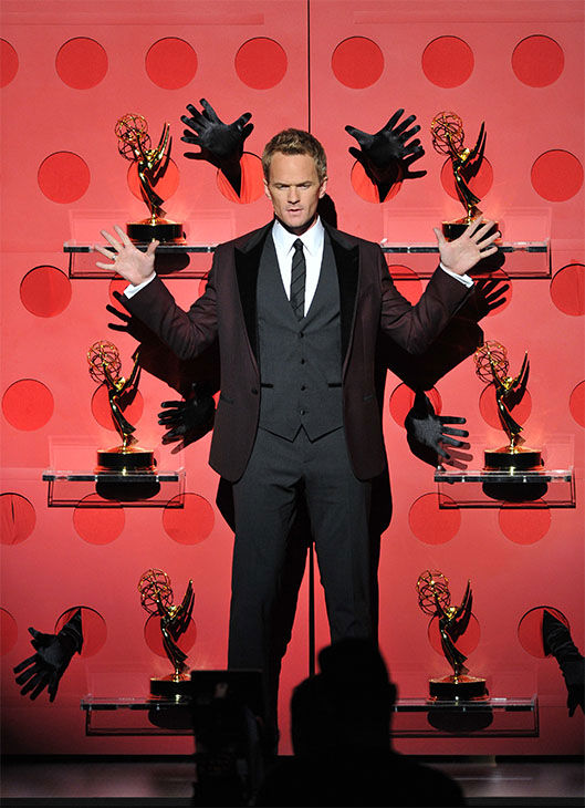 "<div class=""meta image-caption""><div class=""origin-logo origin-image ""><span></span></div><span class=""caption-text"">Neil Patrick Harris performs onstage at the 65th Primetime Emmy Awards at Nokia Theatre on Sunday Sept. 22, 2013, in Los Angeles. (Vince Bucci/Invision/AP)</span></div>"