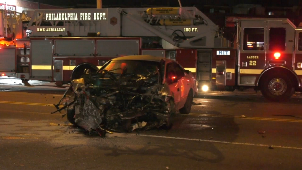 Three killed, another critical in fiery crash in Feltonville | 6abc.com