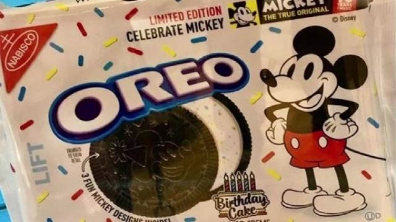 A Sprinkle Of Magic Mickey Mouse Oreos Are Coming To A Store Near