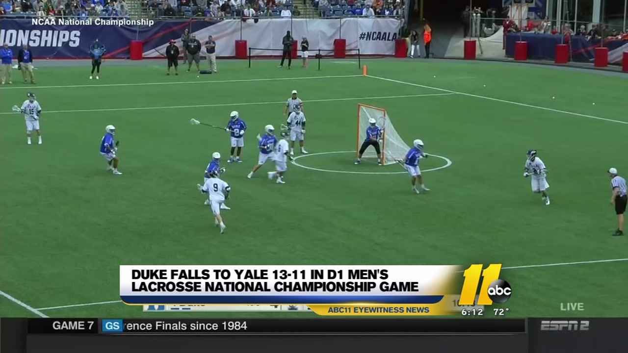 sale retailer 8719e d4595 Duke comes up short, loses to Yale 13-11 in men s lacrosse final