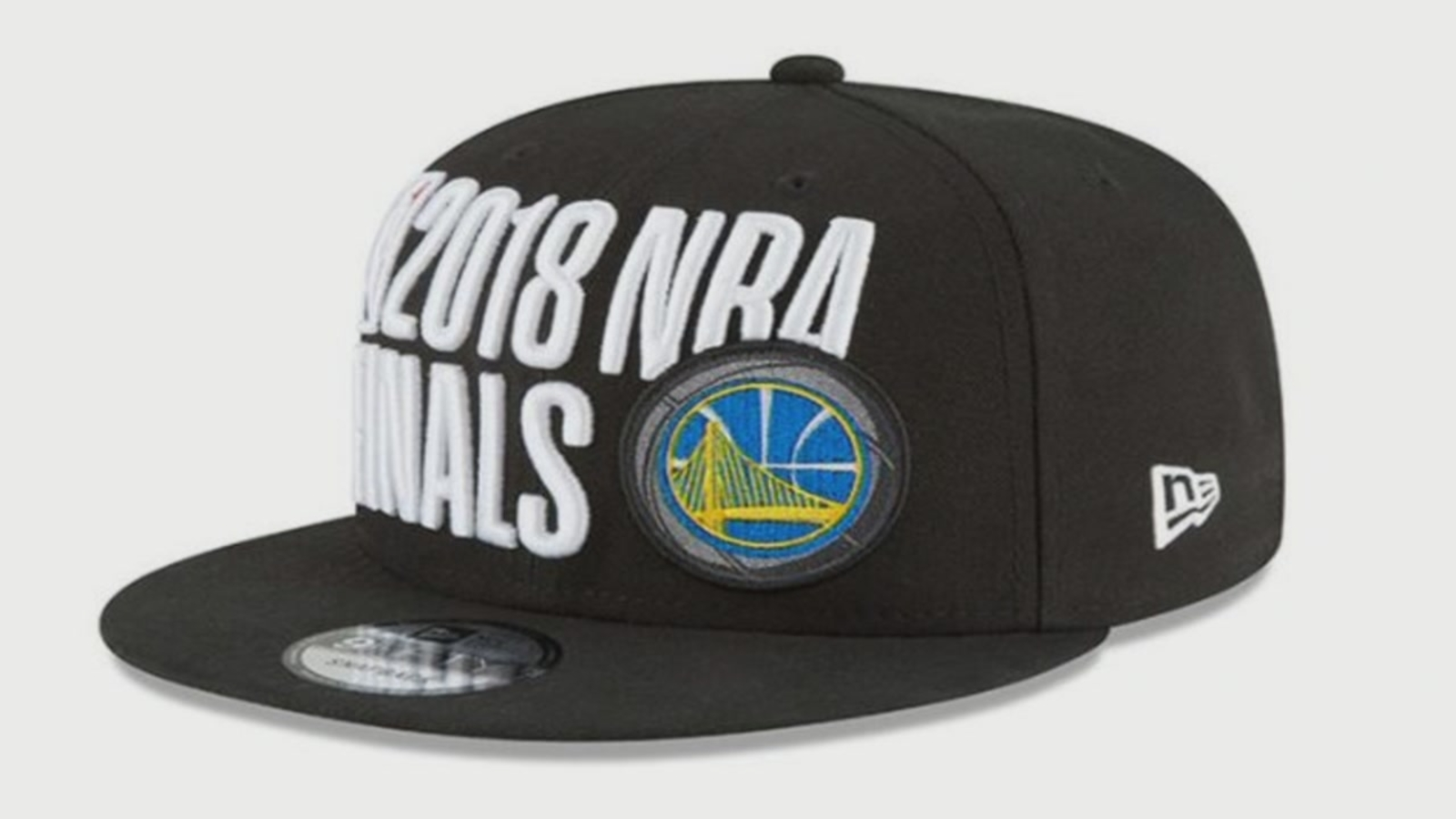 quality design f952c 04545 NBA Finals hat design likened to NRA logo   abc7news.com
