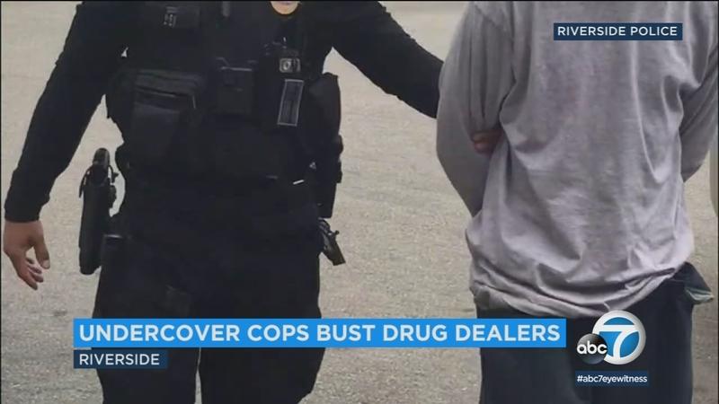 Riverside police arrest 23 in undercover drug sting