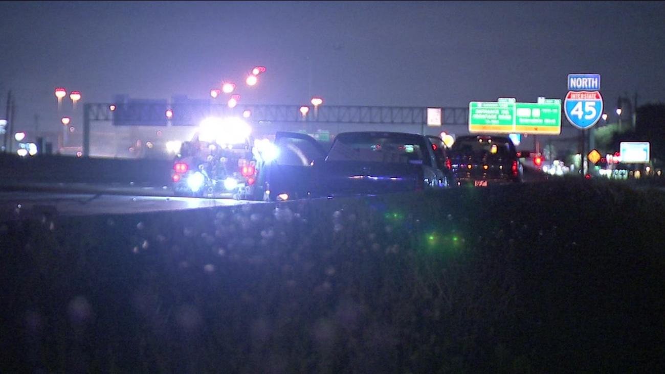 Man Walking On Gulf Freeway Hit And Killed Overnight
