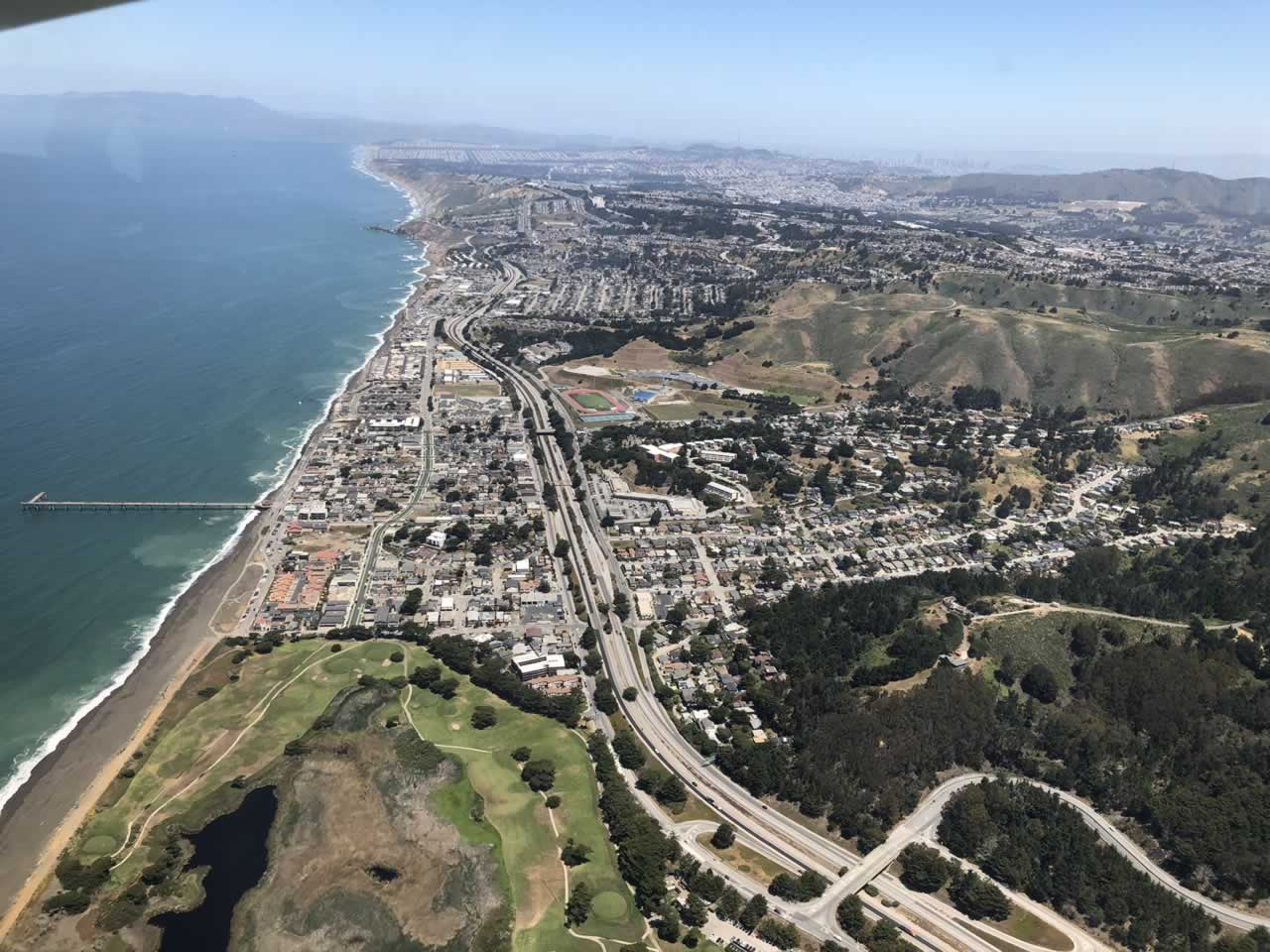 <div class='meta'><div class='origin-logo' data-origin='none'></div><span class='caption-text' data-credit='KGO-TV'>ABC7's Dion Lim captured these photos while soaring over the Bay Area in the Goodyear Blimp on Friday, June 1, 2018.</span></div>