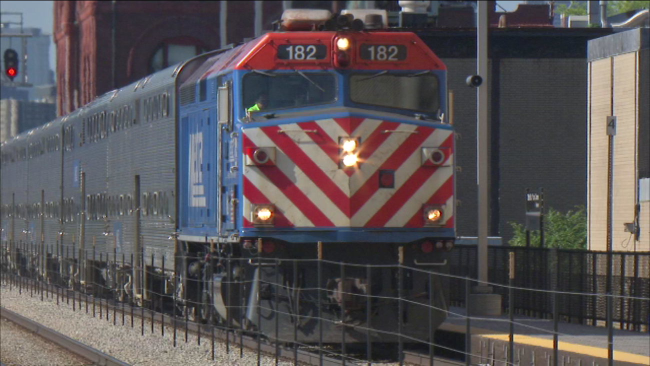 metra union pacific north, west line schedules revised | abc7chicago