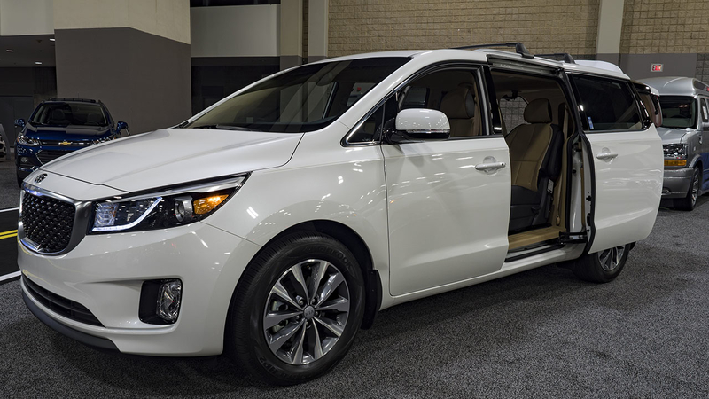 kia is recalling 106,428 model year 2015-2018 sedona minivans because their  sliding doors may not automatically reverse if they close on a limb,