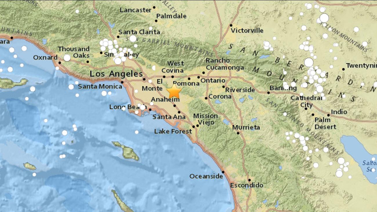2 7 Magnitude Earthquake Shakes La Habra Area Abc7 Com