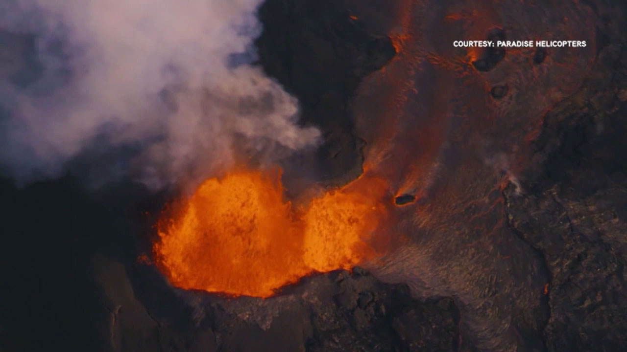 Lava from Hawaii's erupting Kilauea volcano has destroyed more than 100 homes in a rural Big Island district.