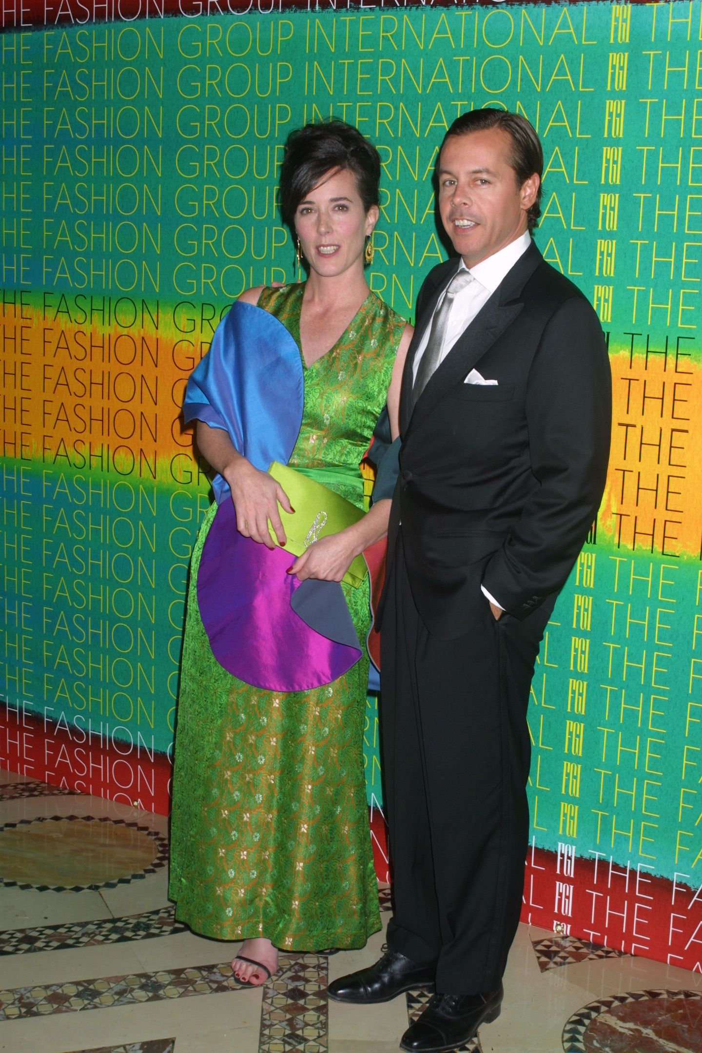 "<div class=""meta image-caption""><div class=""origin-logo origin-image none""><span>none</span></div><span class=""caption-text"">Kate Spade and husband at the 18th Annual Night of Stars Fashion Group International Cipriani in 2001. (Matt Baron/BEI/REX/Shutterstock)</span></div>"