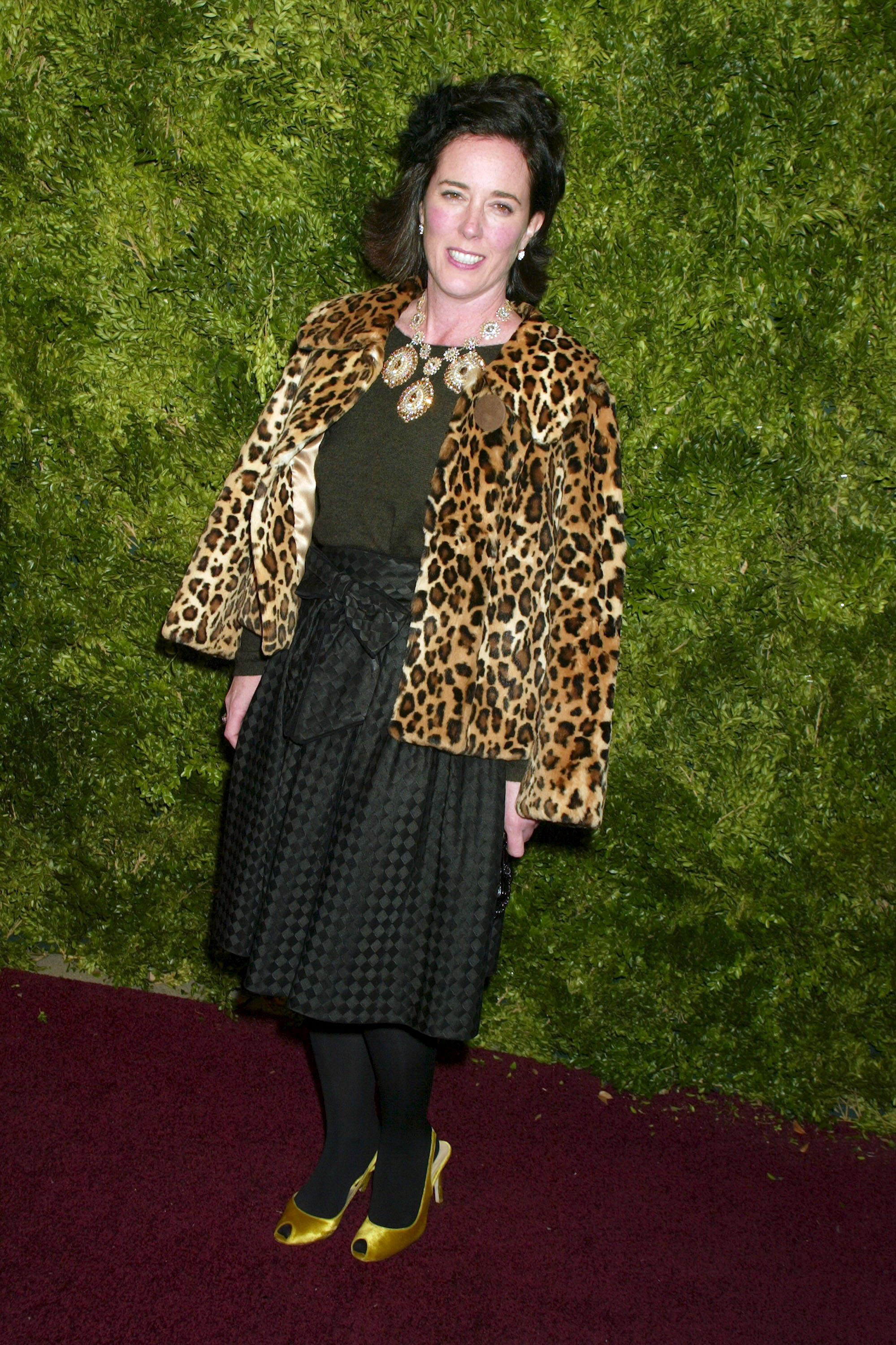 <div class='meta'><div class='origin-logo' data-origin='none'></div><span class='caption-text' data-credit='Gregory Pace/REX/Shutterstock'>Kate Spade at Splashlight Studios in New York in 2005</span></div>