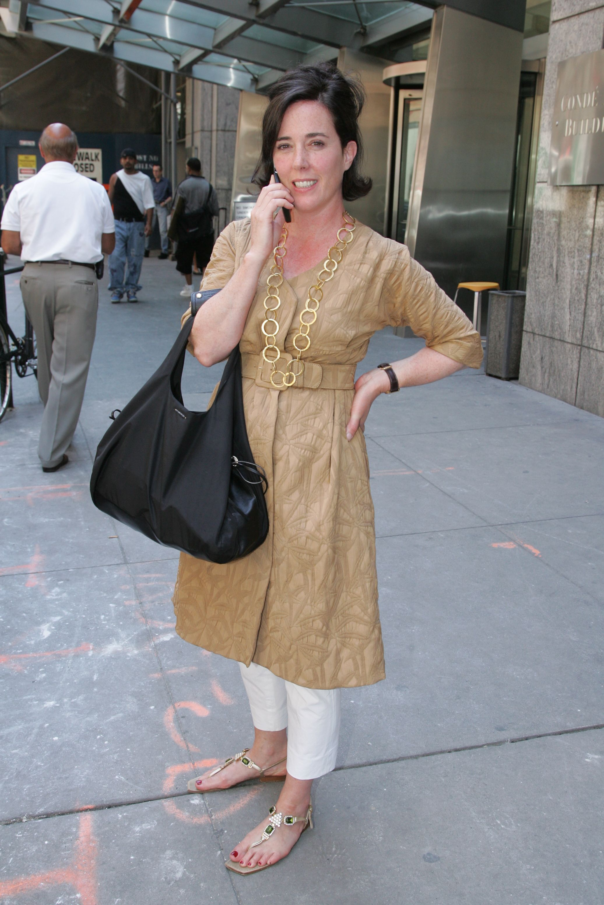 "<div class=""meta image-caption""><div class=""origin-logo origin-image none""><span>none</span></div><span class=""caption-text"">Kate Spade arrives at the Council of Fashion Designers of America's board meeting at 4 Times Square in 2006 (Zack Seckler/Penske Media/REX/Shutterstock)</span></div>"