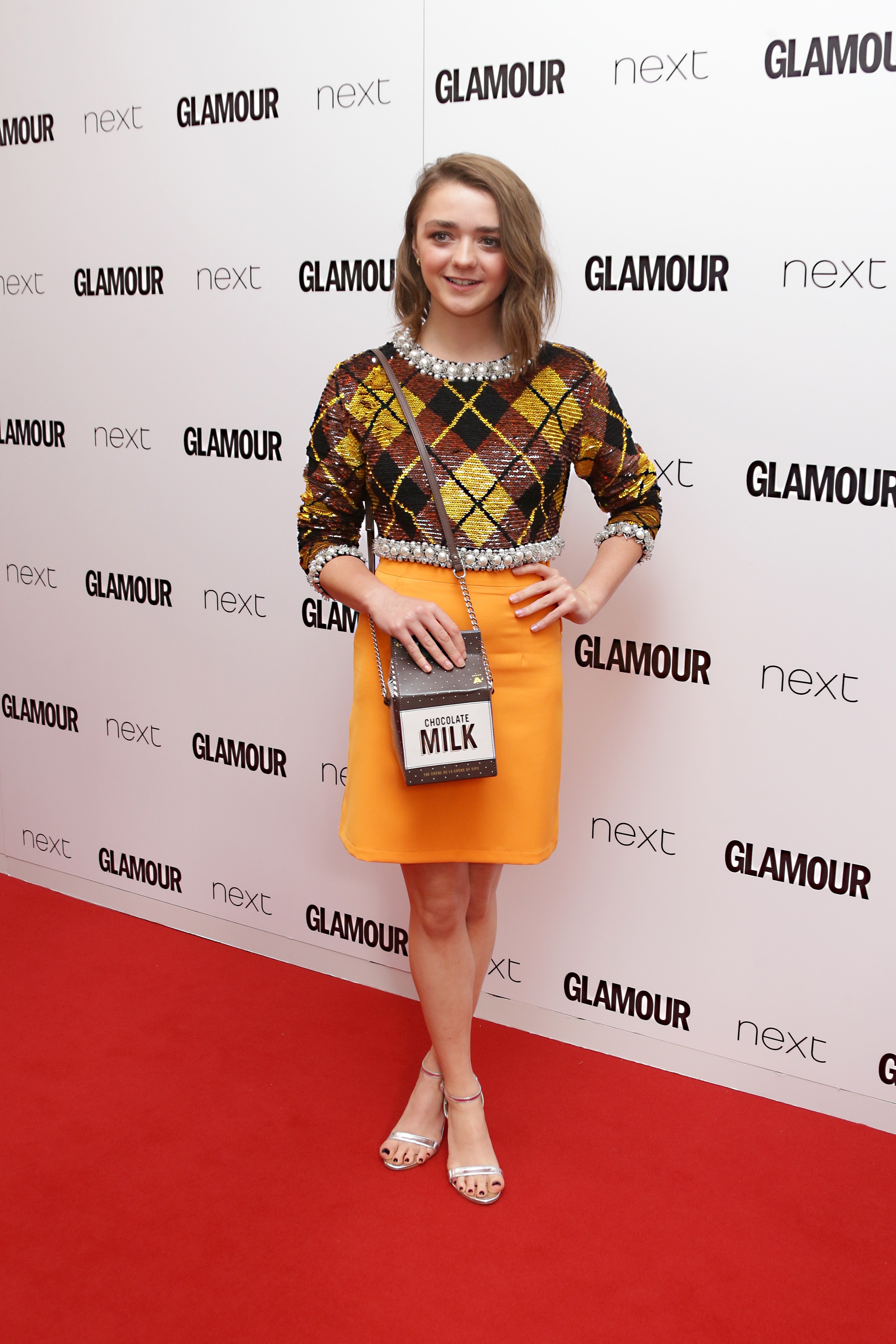 "<div class=""meta image-caption""><div class=""origin-logo origin-image ap""><span>AP</span></div><span class=""caption-text"">Maisie Williams poses for photographers upon arrival at the Glamour Women Of The Year Awards in London, Tuesday, 2 June, 2015. (Photo by Joel Ryan/Invision/AP) (Joel Ryan/Invision/AP)</span></div>"