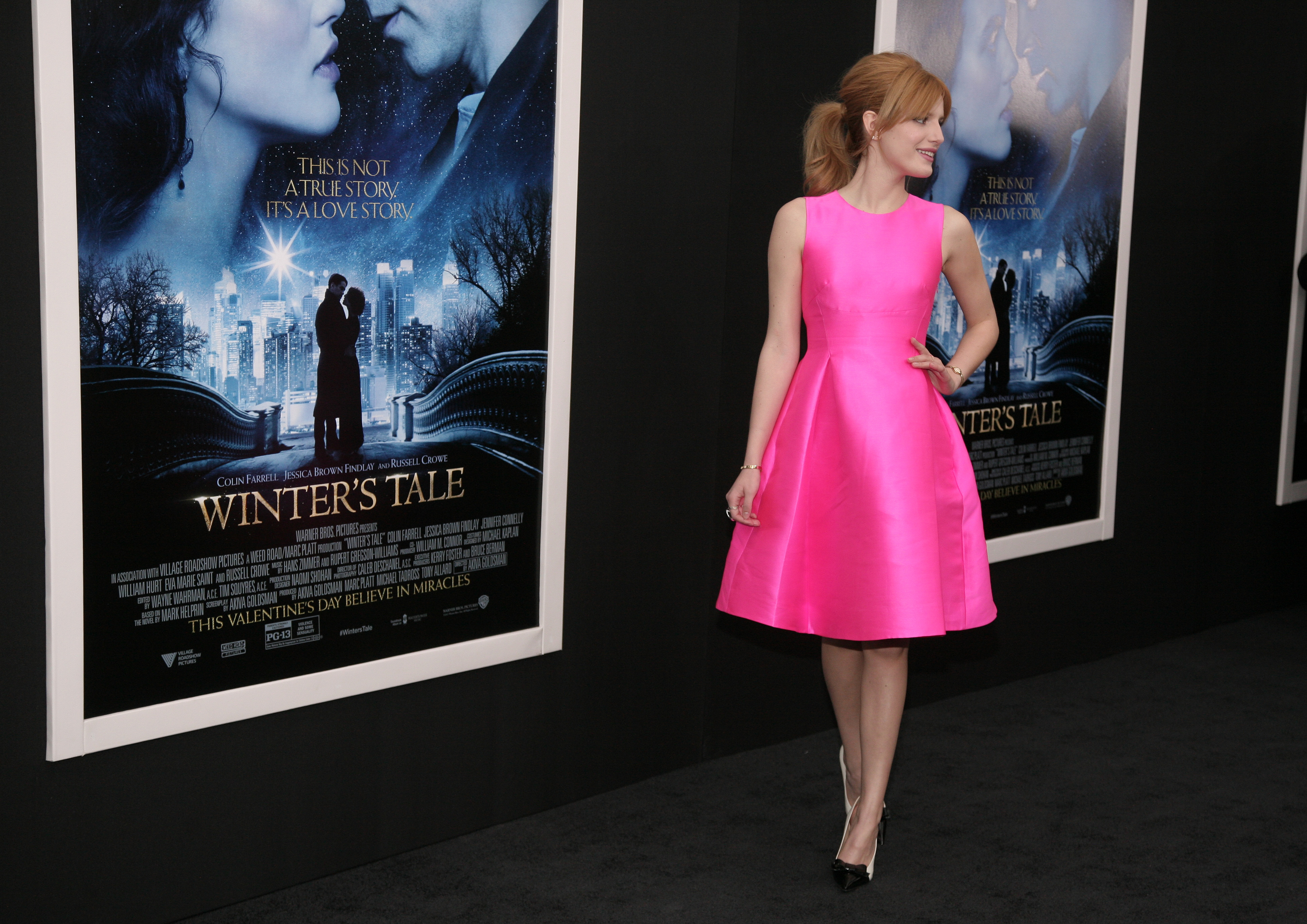 "<div class=""meta image-caption""><div class=""origin-logo origin-image ap""><span>AP</span></div><span class=""caption-text"">Actress Bella Thorne attends the world premiere of ""Winter's Tale"" on Tuesday, Feb. 11, 2014 in New York. (Photo by Andy Kropa/Invision/AP) (Andy Kropa /Invision/AP)</span></div>"