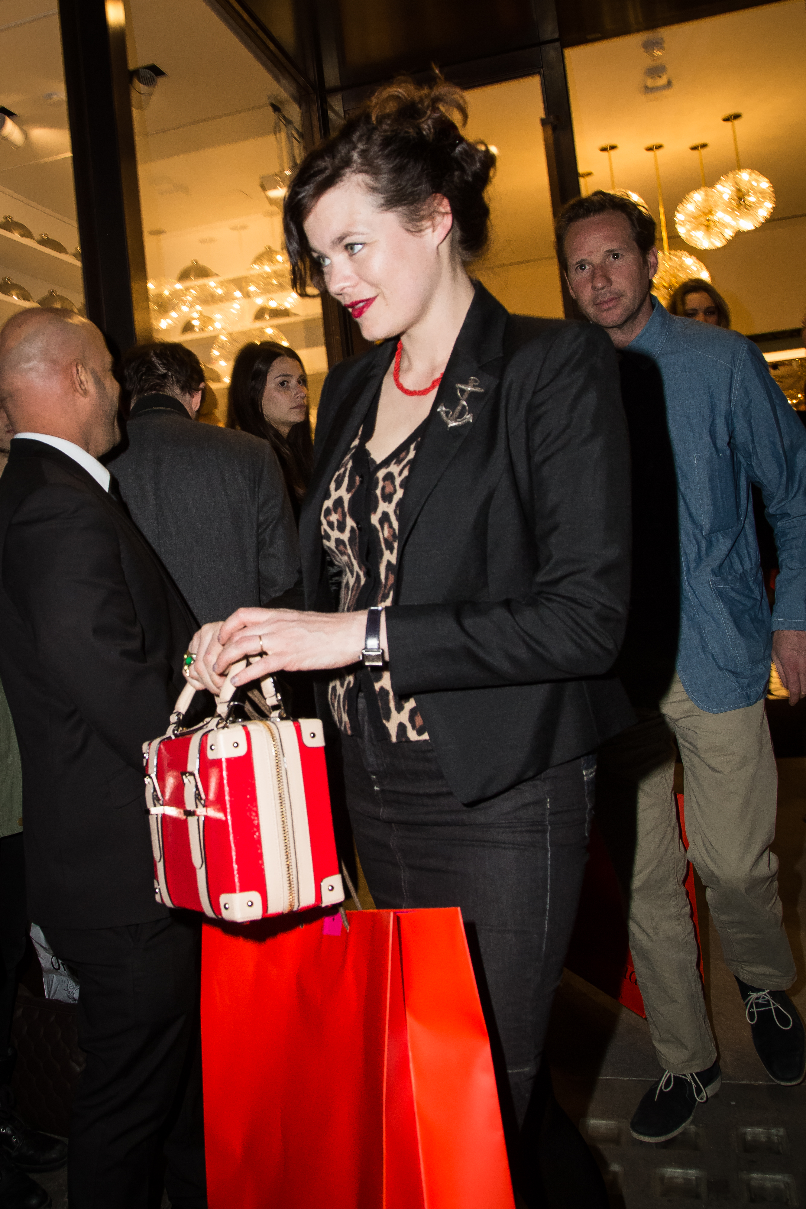 "<div class=""meta image-caption""><div class=""origin-logo origin-image ap""><span>AP</span></div><span class=""caption-text"">Jasmine Guinness leaves the Kate Spade New York flagship store opening party in London, Thursday, April 21, 2016. (Photo by Vianney Le Caer/Invision/AP) (Vianney Le Caer/Invision/AP)</span></div>"