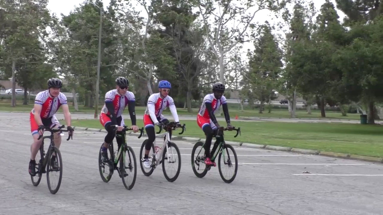 Socal Race Across America Team To Ride Over 3 000 Miles In 6 Days For Fundraiser Event Abc7