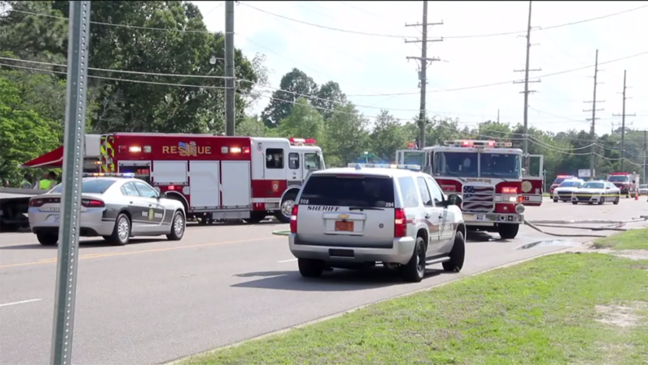 Two people died in the horrific crash Sunday.