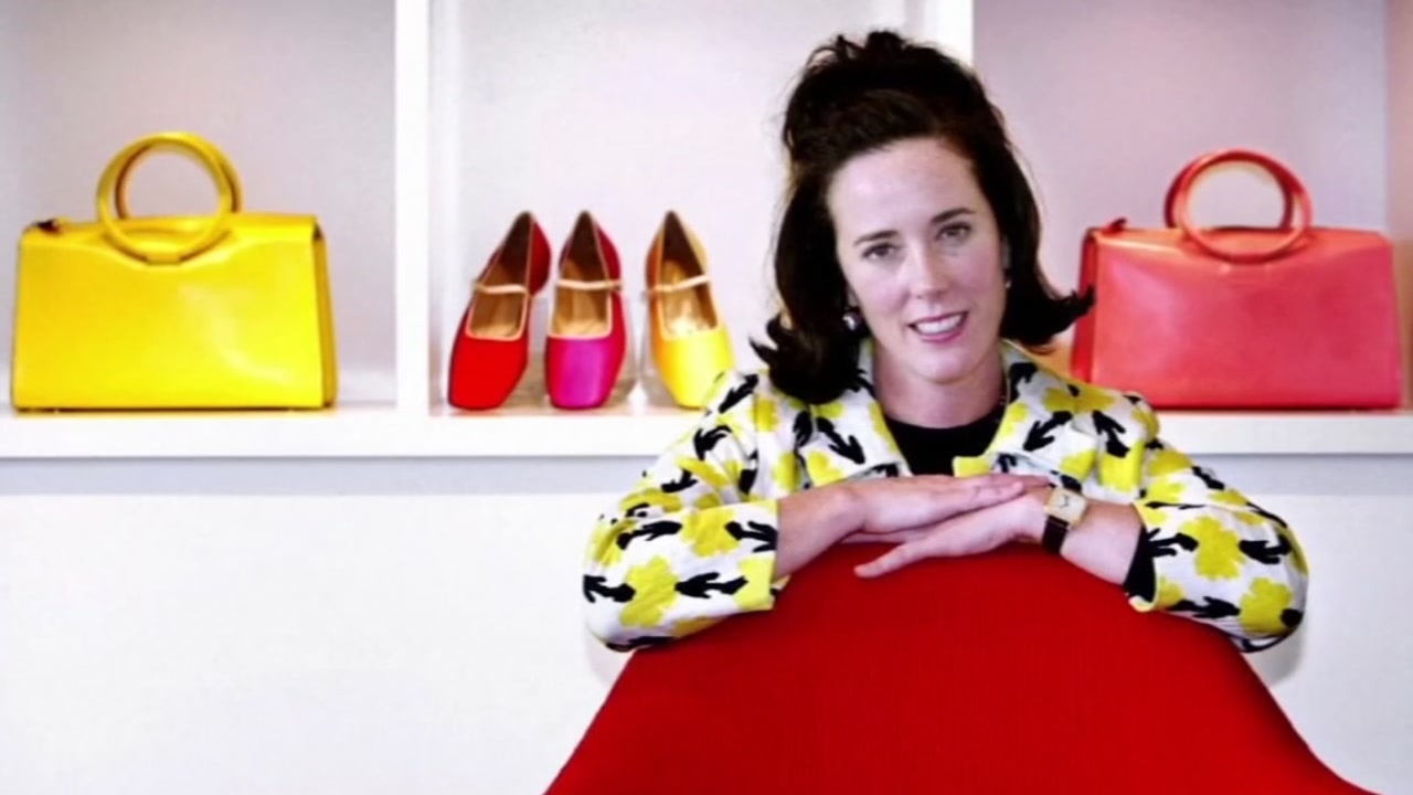 This is an undated image of fashion designer Kate Spade.