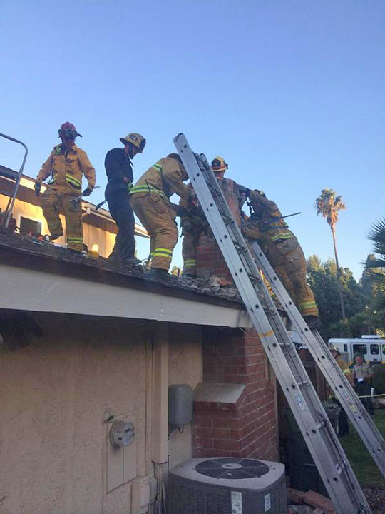 Woman Gets Stuck In Chimney Of Man She Met On Dating Site LAist