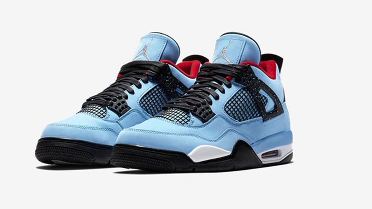 2d682dbf661 Rapper Travis Scott's new shoes to pay homage to Houston Oilers ...