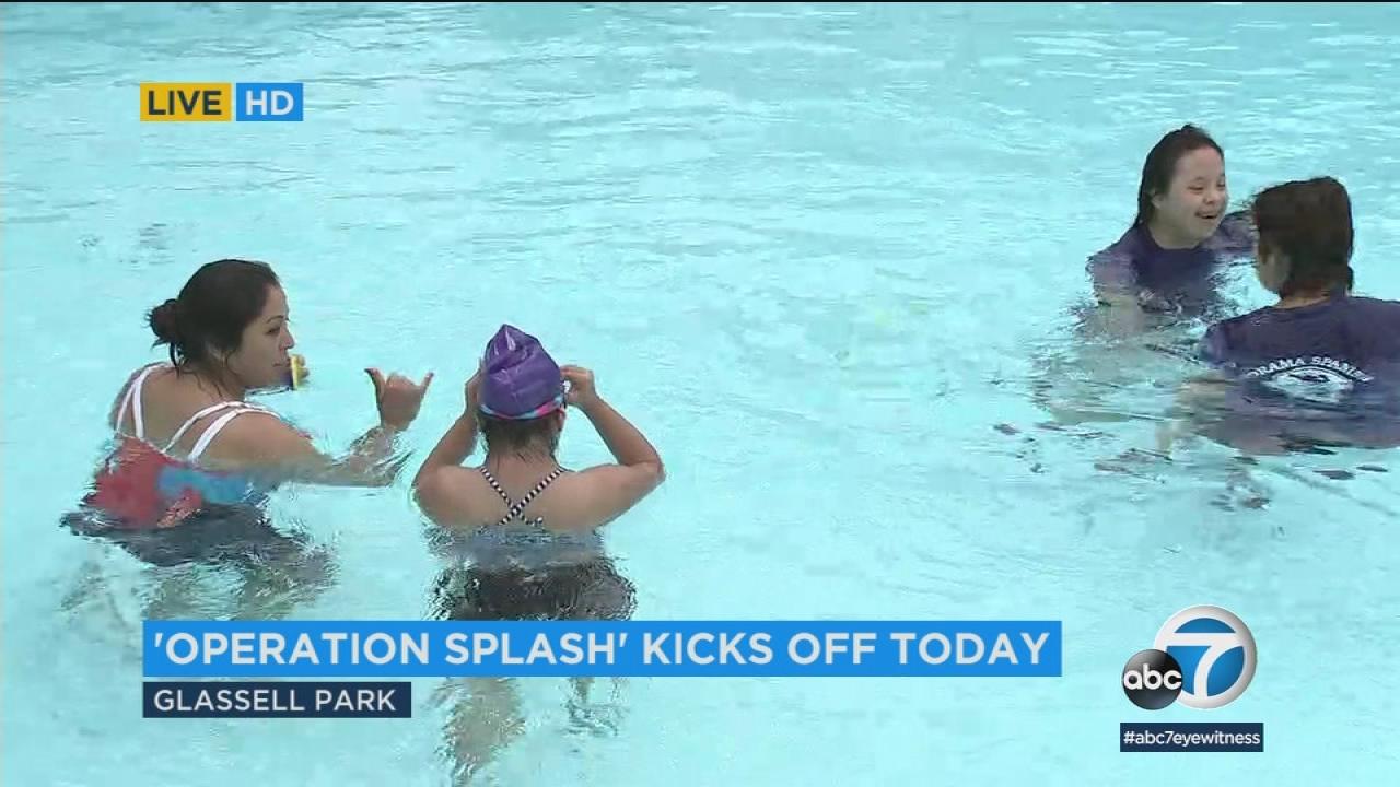 Kaiser Permanente Starts Autism Family >> Kaiser Permanente S Operation Splash Is Offering Free Swim Classes