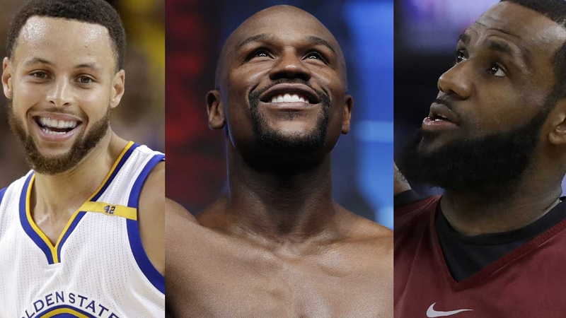 Forbes' highest-paid athletes 2018 list