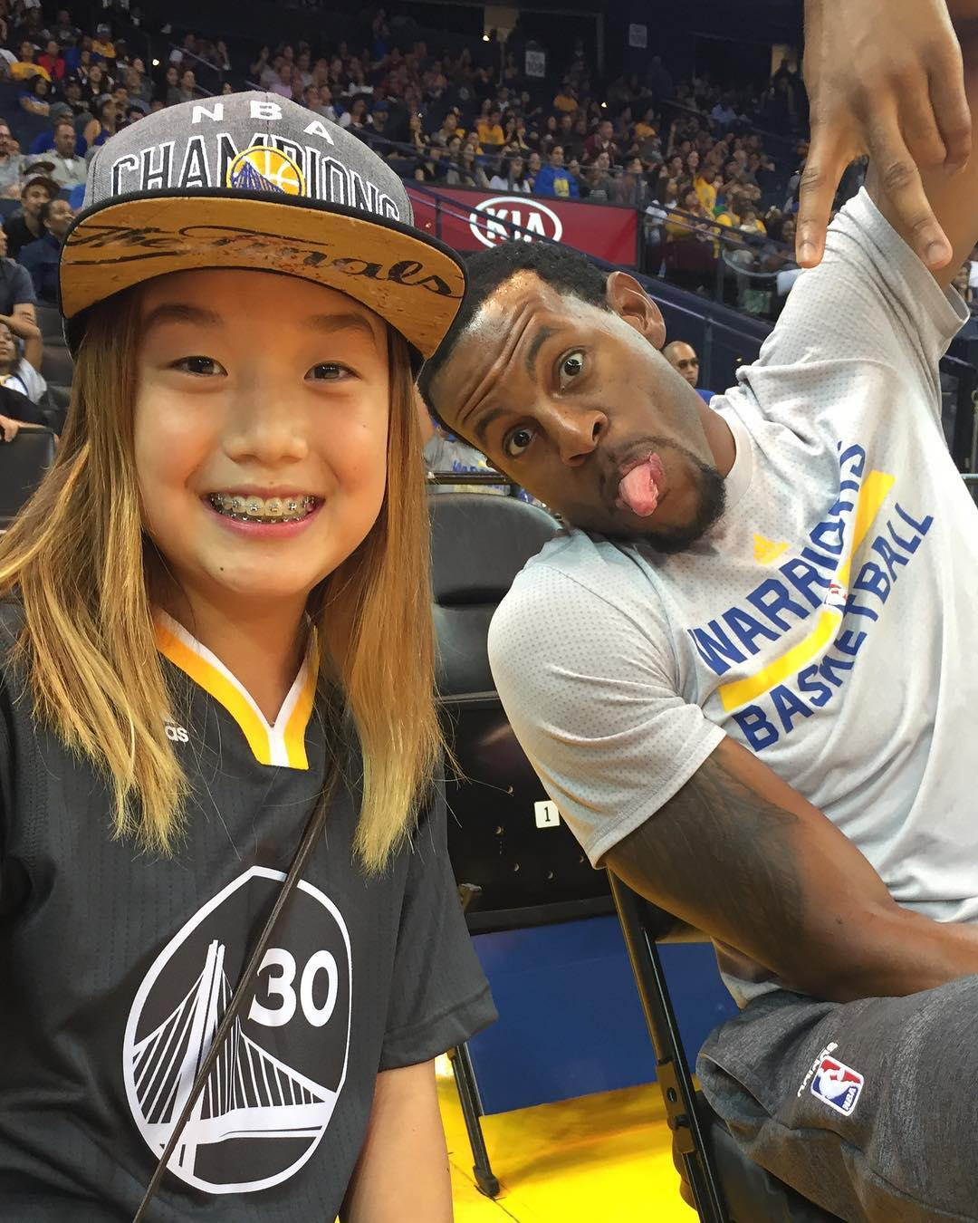 <div class='meta'><div class='origin-logo' data-origin='none'></div><span class='caption-text' data-credit='Photo submitted to KGO-TV by @Frank49erkim/Instagram'>Warriors fans show their spirit during the 2017-2018 season. Share your pictures using #DubsOn7 and you may see them online or on TV!</span></div>