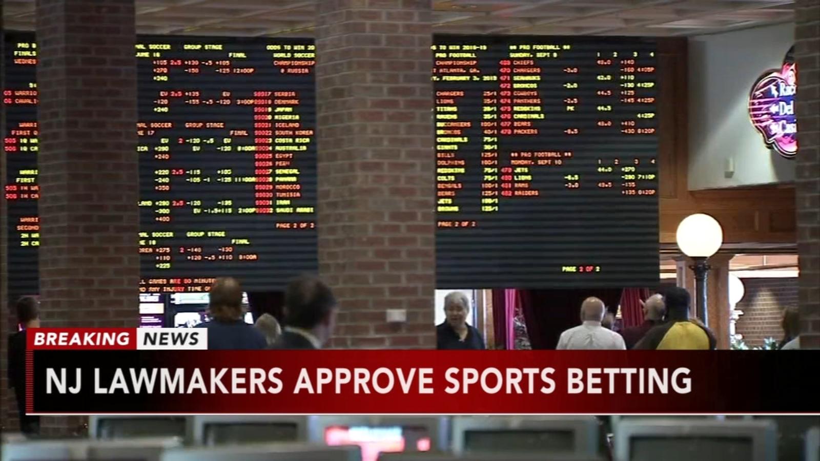 Nj sports betting legislation passed mk dons v swindon betting calculator