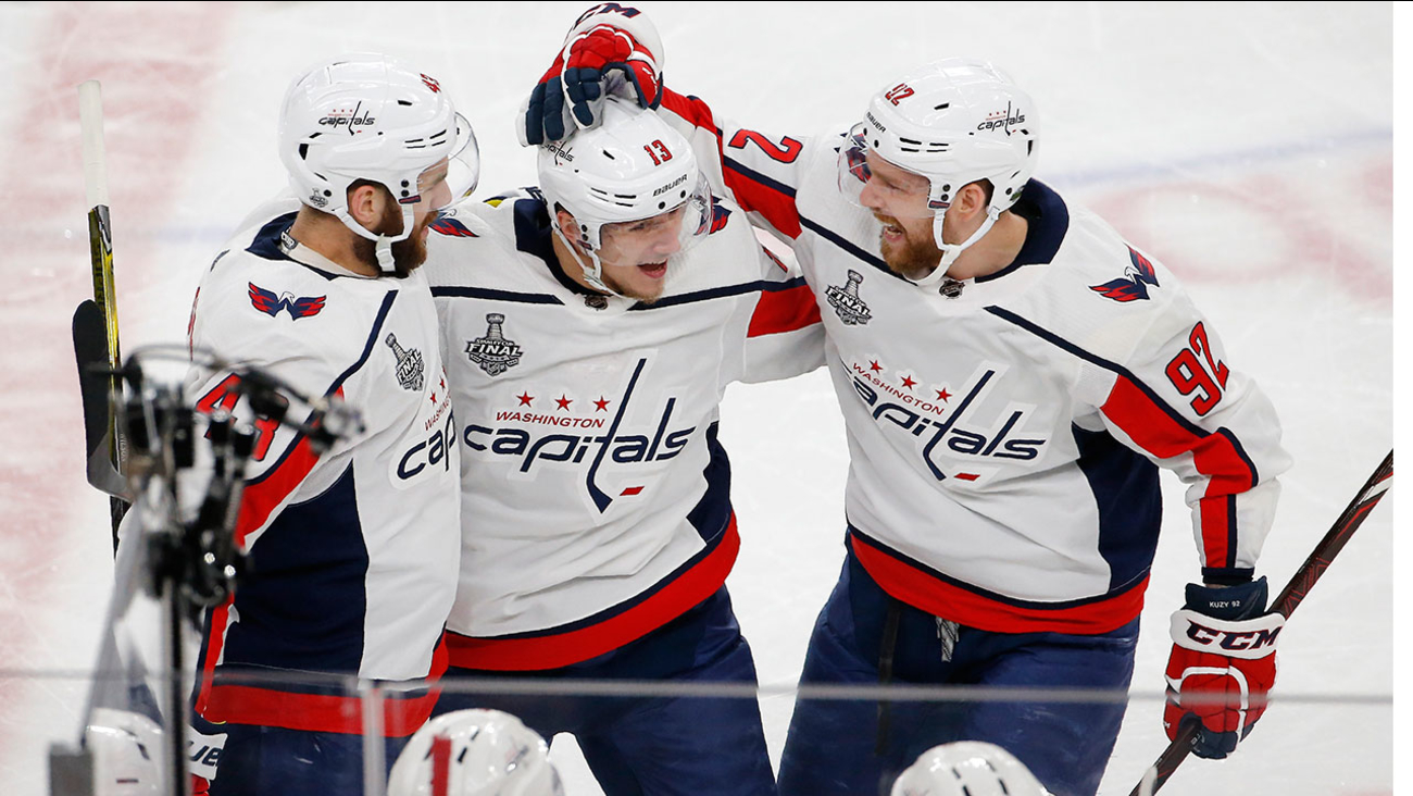 The Capitals defeated the Golden Knights 4-3 in Game 5 of the Stanley Cup Final to win their first title in franchise history.