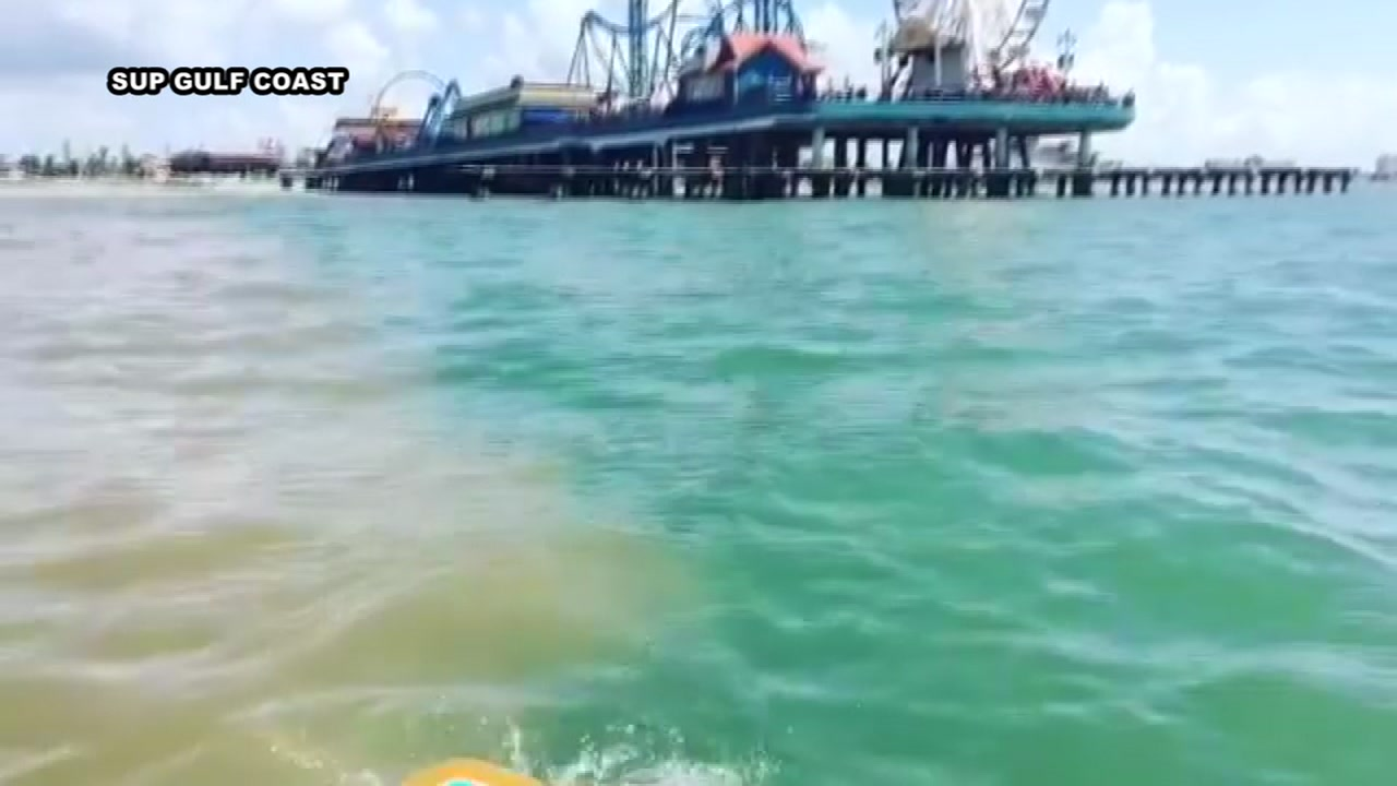 Stunning video shows line of water just off galveston abc13 solutioingenieria Image collections