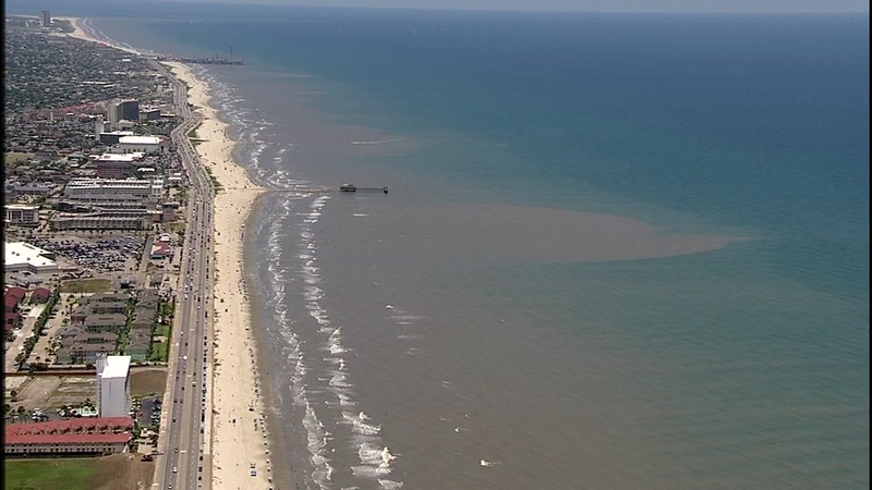 IT'S BACK: Clear blue water back on Galveston Island