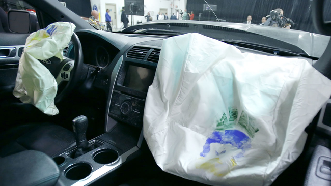 United States Safety Regulators Expand Airbag Recall To Nearly  Million Vehicles Abcnews Com