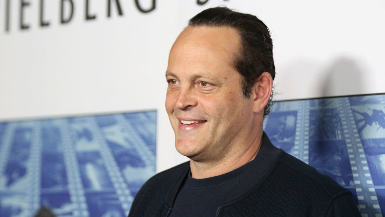 "Vince Vaughn arrives at the Los Angeles premiere of ""Spielberg"" at Paramount Studios on Tuesday, Sept. 26, 2017."